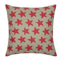 PAD Kissenhülle, Sternen Muster, gestickt