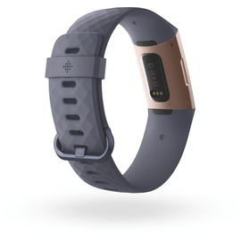 Fitbit Charge 3 blaugrau / rosegold