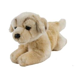Teddys Rothenburg Kuscheltier (Hund Golden Retriever liegend 30 cm (mit Schwanz), Plüschtier, Stofftier, Golden Retriver, Plüschretriever, Stoffhunde)