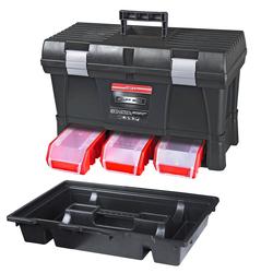 ADB Werkzeugkoffer Werkzeugkasten Werkzeugkiste Toolbox STUFF mit Stapelboxen