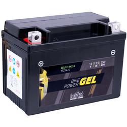 Intact Bike-Power GEL Motorradbatterie GEL12-14ZS 11.5Ah (DIN 51101) YTZ14S, YTZ14-S