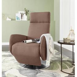 sit&more TV-Sessel braun