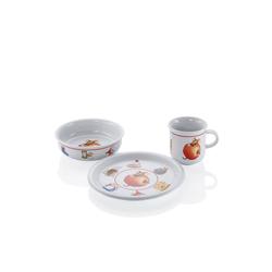 ARZBERG Teekanne Arzberg Kindergeschirrset Kinderset 3 teilig Küche