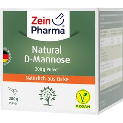 NATURAL D-Mannose aus Birke ZeinPharma Pulver 200 g