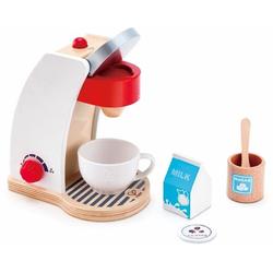 Hape Kinder-Kaffeemaschine Meine Kaffeemaschine, (Set, 6-tlg), mit Ein-/Ausschalter und einem Drehregler