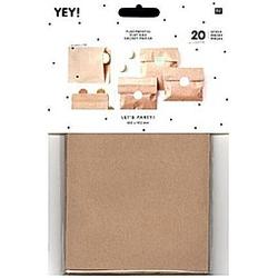 Flachbeutel Kraftpapier Braun, Größe S