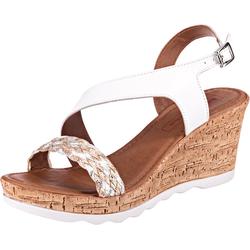 Klassische Sandaletten Sandalette 41