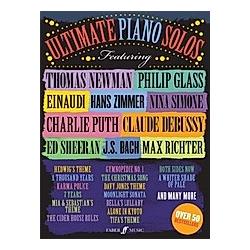 Ultimate Piano Solos - Buch