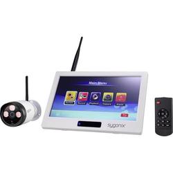 Sygonix 1594378 Funk-Überwachungskamera-Set mit 1 Kamera 2.4GHz