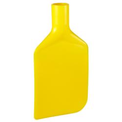 Vikan Rührlöffelblatt, 220 mm, Schaber für das Entleeren von Behältern und Töpfen, Material: Polyethylen, gelb