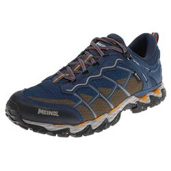 Meindl HOUSTON GTX Jeans Orange Herren Hiking Schuhe, Grösse: 41.5 (7.5 UK)