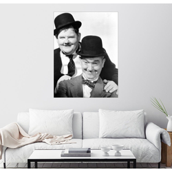 Posterlounge Wandbild, Dick & Doof in der Fremdenlegion 100 cm x 130 cm