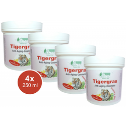4x 250ml Tagescreme Anti Aging Anti Falten Schwangerschaftsstreifen Tigergras Pullach Hof