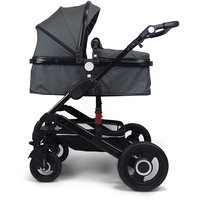 VCM Kombi-Kinderwagen 2 in 1 anthrazit