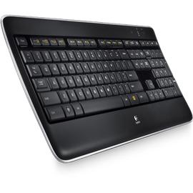 Logitech K800 Wireless Illuminated Keyboard DE (920-002360)