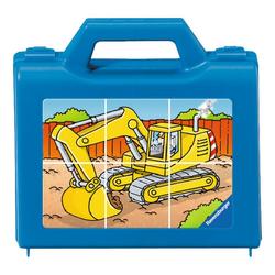 Ravensburger Würfelpuzzle Fahrzeuge Im Einsatz, Würfelpuzzle, 6 Puzzleteile