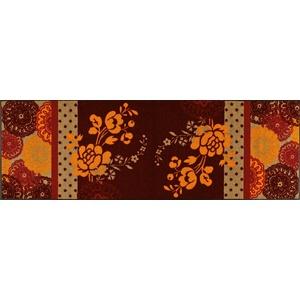 Wash+Dry Fußmatte Reddish Crystal 60x180 cm