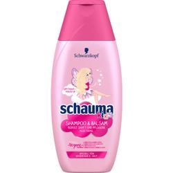 Schauma kids Mädchen Shampoo, Shampoo & Balsam, 250 ml - Flasche