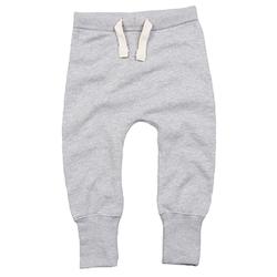 Baby Jogginghose | Babybugz grey heather 06-12
