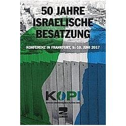 50 Jahre Israelische Besatzung - Buch