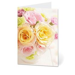 LUMA Grußkarte Blumen DIN B6