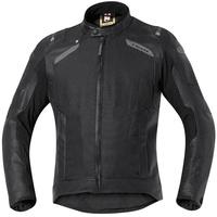 Held Camaris Leder-Textiljacke schwarz, Größe XL