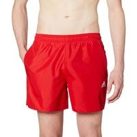 adidas Solid CLX Short Length Shorts Herren rot M 2021 Schwimmslips & -shorts
