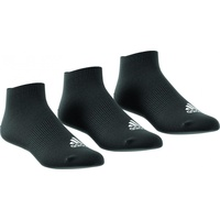 adidas No-Show Thin 3er Pack black/black/black 35-38