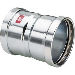 Viega Prestabo Muffe 597740 88,9 mm, Stahl unlegiert, SC-Contur