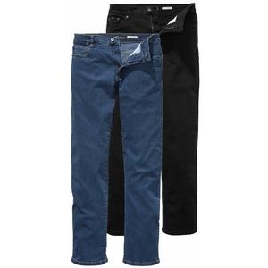 Arizona Stretch-Jeans John (Packung, 2-tlg) Straight Fit blau 27