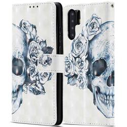 Tasche für Huawei P30 Pro - Totenkopf