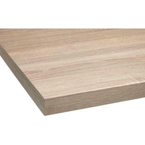 OPTIFIT Arbeitsplatte Luzern, 38 mm stark braun Zubehör Küchenmöbel Küche Ordnung