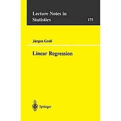 Linear Regression. J. Groß  - Buch