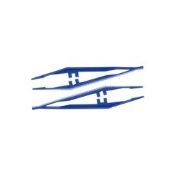 PINZETTE steril blau 12,5 cm
