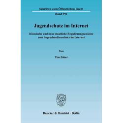 Jugendschutz im Internet als Buch von Tim Faber