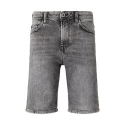 TOM TAILOR DENIM Herren Loose Fit Jeansshort in 90er Waschung, grau, Gr.28