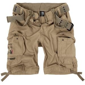 bw-online-shop Urban Summer Vintage Shorts beige, Größe XXL