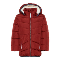 name it Boys Winterjacke NMMUS biking red