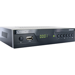 Schwaiger Satelliten Receiver DSR500HD Full HD (DVB-S2) Free to Air