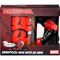 Tasse Deadpool 3D Arm