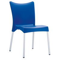 Clp Juliette Stapelstuhl 48 x 53 x 83 cm blau