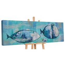 YS-Art Gemälde Reisende Fische PS016