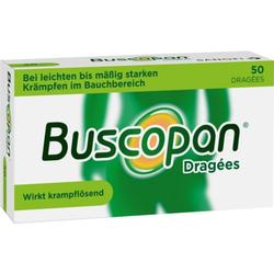 Buscopan Dragées bei Bauchkrämpfen 50 St