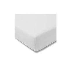 Estella Spannbettlaken Fein Jersey in weiß, 150 x 200 cm