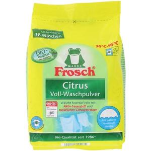 Frosch Citrus Voll-Waschpulver 18WL (1,35 kg)