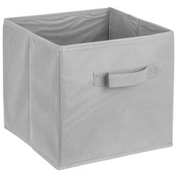 ADOB Aufbewahrungsbox Faltbox (1 Stück), Faltbox mit Griff grau