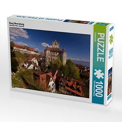 Burg Meersburg Lege-Größe 64 x 48 cm Foto-Puzzle Bild von U boeTtchEr Puzzle