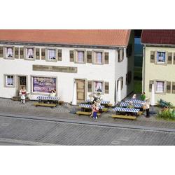 NOCH 14817 H0 Biergarten-Zubehör Bemalt, Fertigmodell