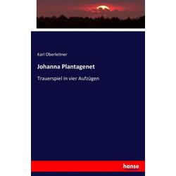 Johanna Plantagenet als Buch von Karl Oberleitner