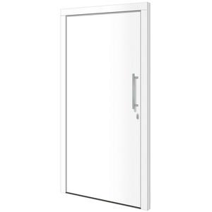 RORO Türen & Fenster Haustür Otto 1, BxH: 110x210 cm, weiß, ohne Griff